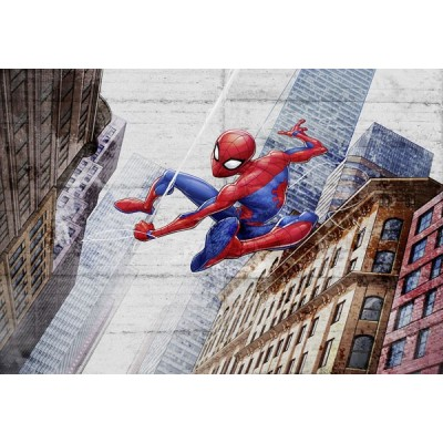 Fotomural Marvel SPIRDERMAN NEW CONCRETE 8-4029