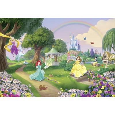 Fotomural Disney PRINCESS RAINBOW 8-449