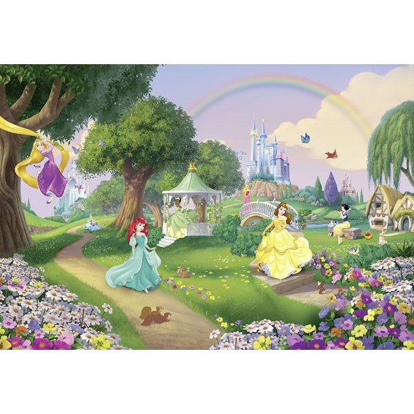 Fotomural Disney PRINCESS RAINBOW 8-449