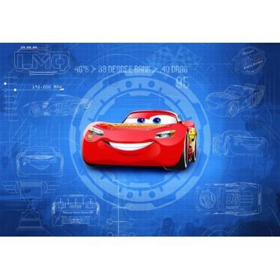 Fotomural Disney CARS3 BLUEPRINT 8-488