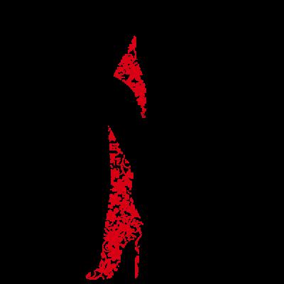 Vinilo Decorativo Moderno MO204, Pequeño, Negro 8288-00, Rojo 8258-03, Original