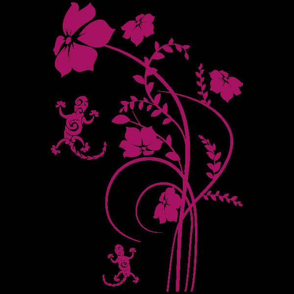 Vinilo Decorativo Floral FL121, Pequeño, Magnolia 8958-21, Original