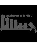 Vinilo Decorativo Cocinas CO034, Pequeño, Gris Oscuro 8288-01, Original