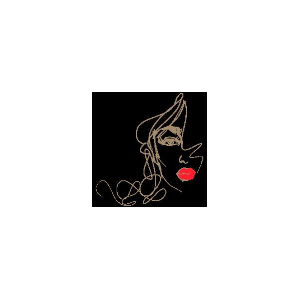 Vinilo Decorativo Moderno MO238, Grande, Beige Oscuro 8988-14, Rojo Vivo 8258-02, Original