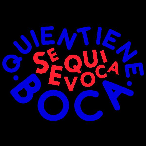 Vinilo Decorativo Textos TE205, Pequeño, Azul 8238-10, Rojo Vivo 8258-02, Original