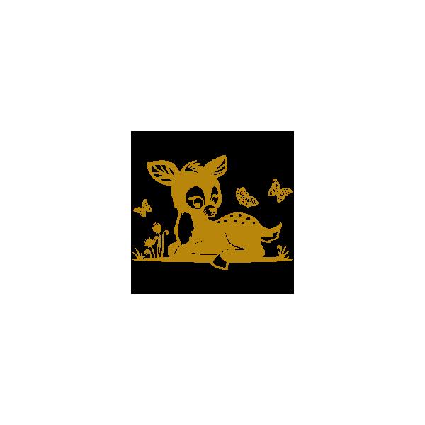Vinil Decorativo Infantil IN174, Pequeño, Oro 8278-00, Original