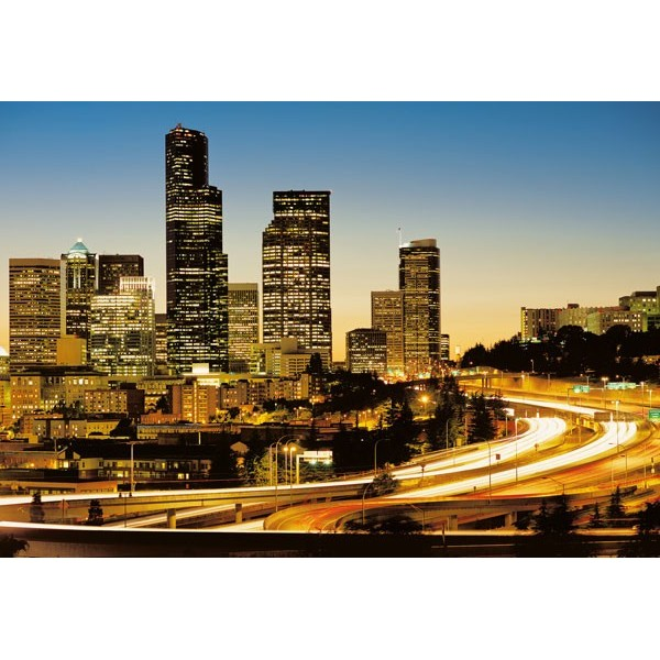 Fotomural CITY LIGHTS