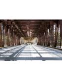 Fotomural Puente Industrial FPR021, 340cm. x 226.7cm., Vinilo Autoadhesivo Mate, Todo Color, Original, 0x0x0x0 cm.