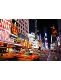 Fotomural New York Noche FCI005, 200cm. x 90cm., Vinilo Autoadhesivo Mate, Todo Color, Original, 0x17.34x0x26.66 cm.