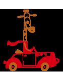 Vinil Decorativo Infantil IN220, Pequeño, Cobre 8278-01, Rojo 8258-03, Original