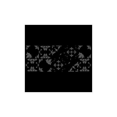 Vinilo Decorativo Moderno MO229, Grande, Negro 8288-00, Gris Oscuro 8288-01, Original