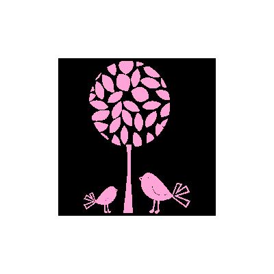 Vinilo Decorativo Infantil IN002, Pequeño, Rosa 541, Original