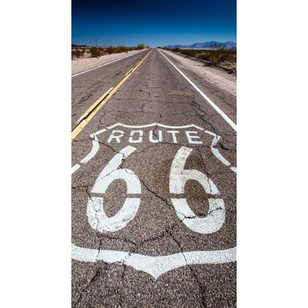 Fotomural Ruta 66 FPR001, 130cm. x 242cm., Vinilo Autoadhesivo Mate, Todo Color, Original, 20.04x0x20.04x0 cm.