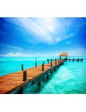 Fotomural Playa FPL003, 100cm. x 89cm., Vinilo Autoadhesivo Mate, Todo Color, Original, 0x0x0x0 cm.