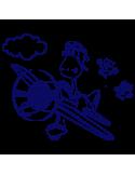 Vinil Decorativo Infantil IN157, Grande, Azul Oscuro 8238-01, Original