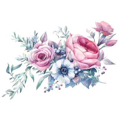 Vinil Floral 1009
