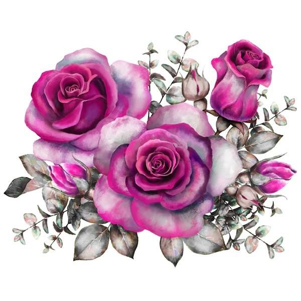 Vinilo Floral 1008