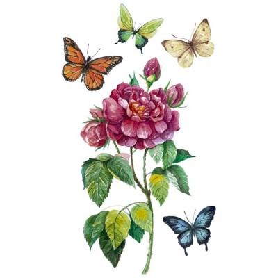 Vinilo Floral 1001