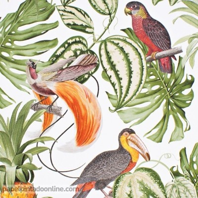 Papel pintado TROPICAL 6302-07
