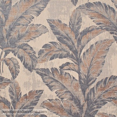 Paper pintat FULLES DE PLANTES 6341-08