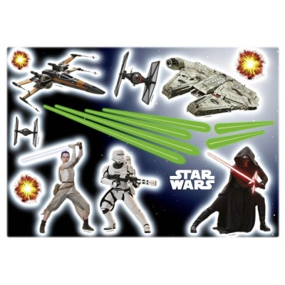 STICKER STAR WARS EP7 14029H