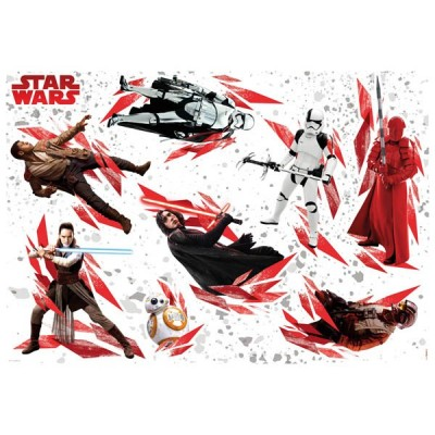 STICKER STAR WARS THE LAST JEDI 14727H