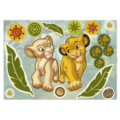 STICKER SIMBA AND NALA 14040H