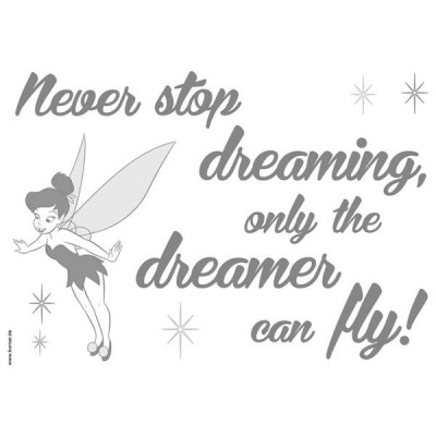 STICKER DISNEY, NEVER STOP DREAMING 14001H