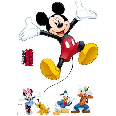 STICKER DISNEY MICKEY AND FRIENDS 14017H