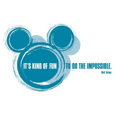 STICKER DISNEY IT'S KIND OF FUN 14012H