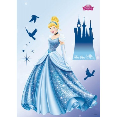 STICKER DISNEY PRINCESS DREAM 14016H