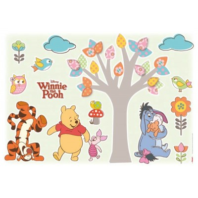 STICKER WINNIE POOH NATURE LOVERS 14014H