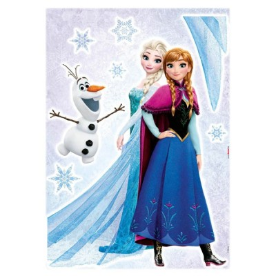 STICKER FROZEN SISTERS 14046H