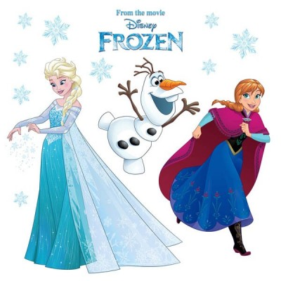 STICKER FROZEN SNOWFLAKE 16408