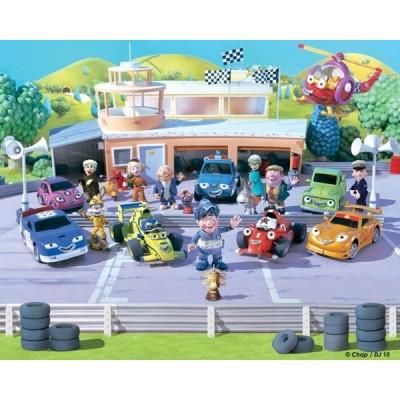 Fotomural Infantil ROARY THE RACING CAR