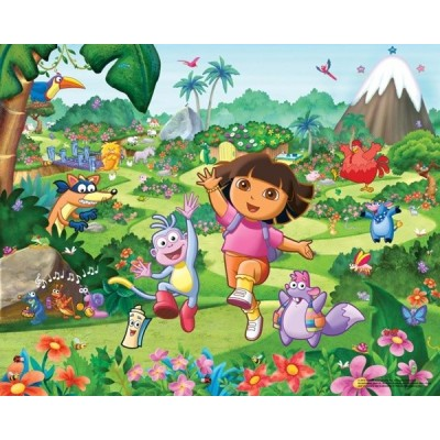 Fotomural Infantil DORA THE EXPLORER