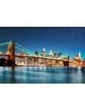 Fotomural New York City Skyline FLF010, 150cm. x 100cm., Vinilo Autoadhesivo Mate, Todo Color, Original, 0x0x0x0 cm.