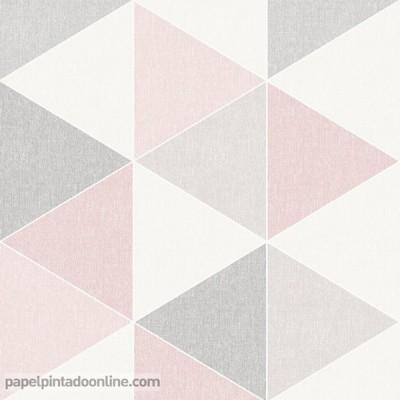 Papel pintado RETRO HOUSE 908204