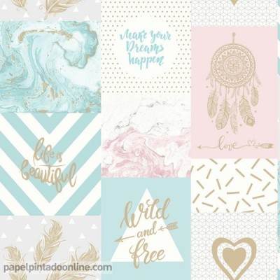 Papel pintado GLASSHOUSE 90210