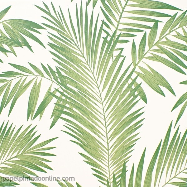 Paper pintat FULLES VERDES TROPICALS 694800