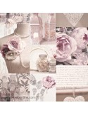 Papel pintado VINTAGE COLLAGE 665201