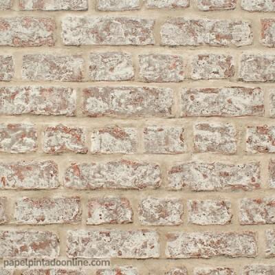 Papel de parede TIJOLO RÚSTICO 889604