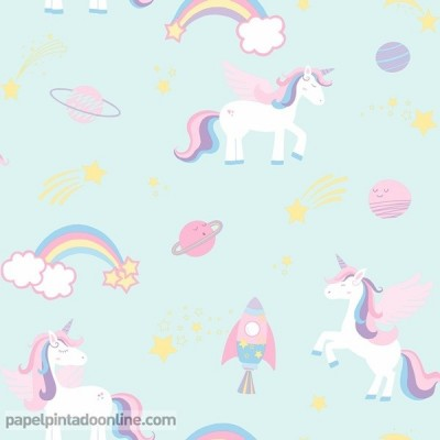 Papel pintado OVER THE RAINBOW 90962