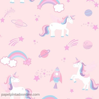 Papel pintado OVER THE RAINBOW 90961