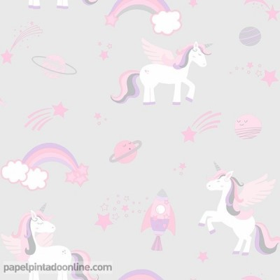 Papel pintado OVER THE RAINBOW 90960