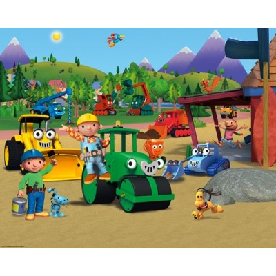 Fotomural Infantil BOB THE BUILDER