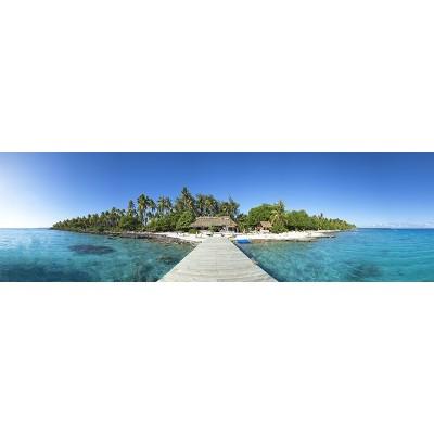 Fotomural Panoràmic Pasarel·la platja 0P-10017