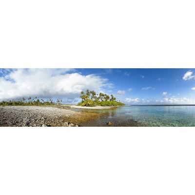 Fotomural Panoràmic illa tropical 0P-10016