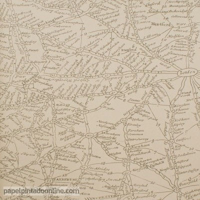 Papel pintado NAVIGATOR TRAVELLER COFFEE