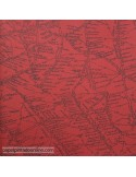 Papel pintado NAVIGATOR TRAVELLER RED